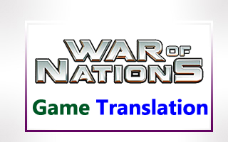 WAR OF NATIONS Game translation