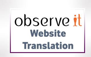 Turkish Translations for ObserveIT