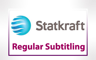 Regular Subtitling for Statkraft