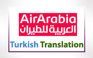 Turkish Translation for Air Arabia