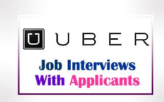 UBER Job Interviews