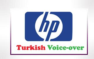 Turkish Voice-over for HP-Hewlett-Packard