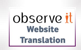 Turkish Translations for ObserveIT