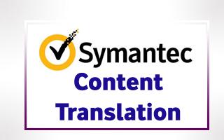 Translation for Symantec