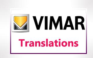 Vimar Technical Translations