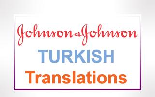 Turkish Translations for Johnson & Johnson