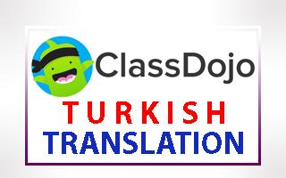 Turkish Translation of ClassDojo