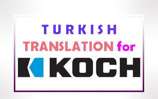 Turkish Translation for Koch
