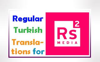 Regular RS2 Media Translations ( for 7 Years )