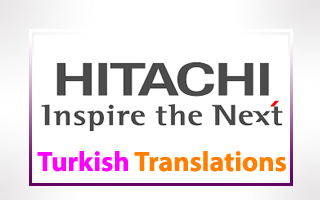 Turkish Translations for Hitachi